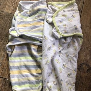Swaddle Me small/medium swaddles bundle